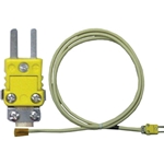 Thermocouples with Mini Connectors