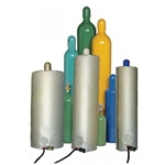 "Gas Cylinder Warmer, for hazardous locations, 9x51"", 150w, 120v"