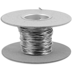 Resistance Wire Round, Awg size 26, Nom. Wire dia. .016, Ohms/ft. 2.57