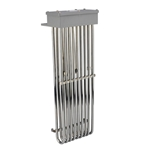 "9HS Nine Element 316 Stainless Steel Heater, 135000W, 16""hot zone, 23""OAL"