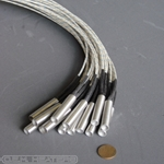 "Cartridge Heater: 3/8"" diam. x 1.5"" long, 30W 220V (0.2A, 1600 Ω) - CLEARANCE"